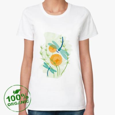 Женская футболка из органик-хлопка Лето