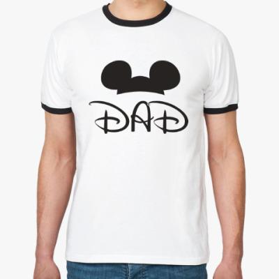 Футболка Ringer-T Dad
