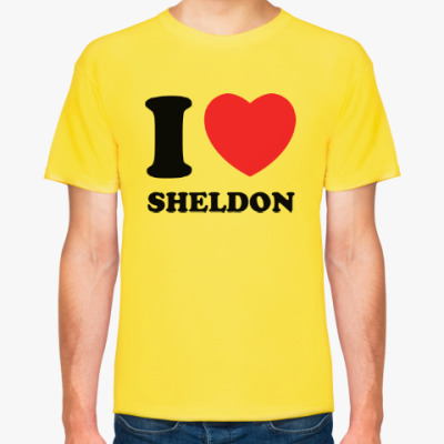 Футболка I Love Sheldon