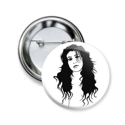 Значок 50мм Amy Winehouse