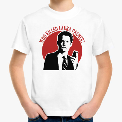 Детская футболка Twin Peaks Dale Cooper