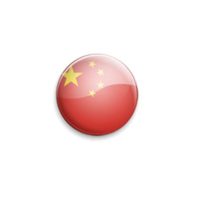 Значок 25мм China