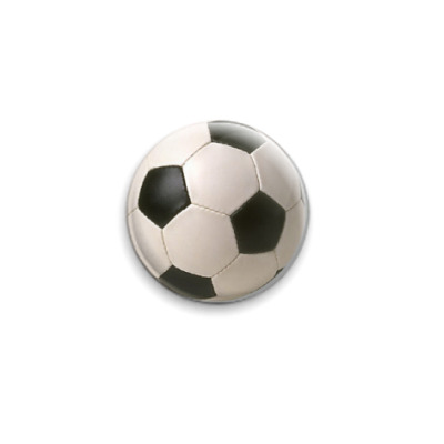 Значок 25мм  Футбол