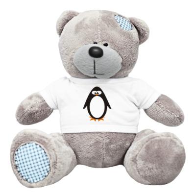 Плюшевый мишка Тедди Пингвин