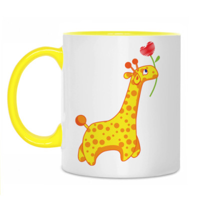 Кружка 'Жирафики'