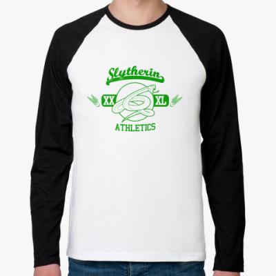 Футболка реглан с длинным рукавом Slytherin