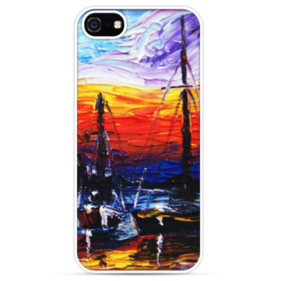 Чехол для iPhone Море и закат