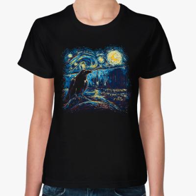 Женская футболка Ночной Дозор (Ван Гог)
