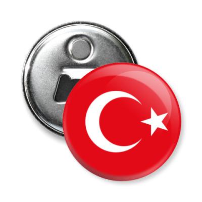 Магнит-открывашка Турция, Turkey