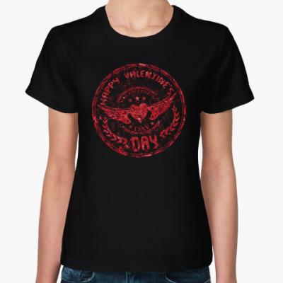 Женская футболка Happy day