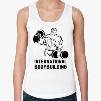 Женская майка  bodybuilding
