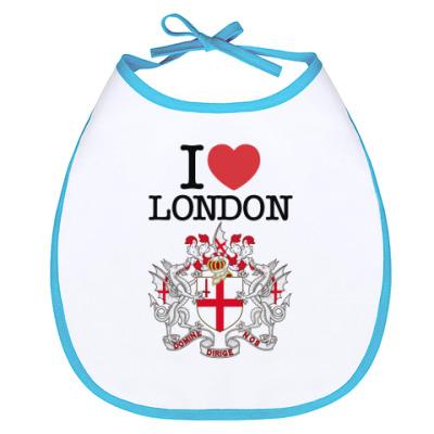 Слюнявчик LONDON