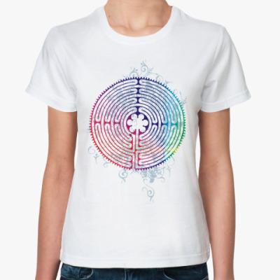 Классическая футболка 'Лабиринт'