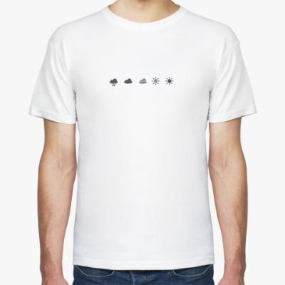 Футболка Смена-8м символы