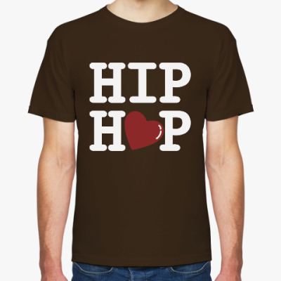 Футболка Люблю хип-хоп