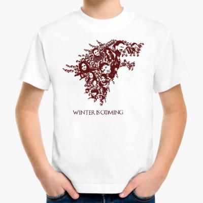 Детская футболка Зима близко (Winter Is Coming)