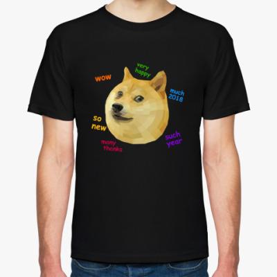 Футболка Doge 3D 2018 Год собаки