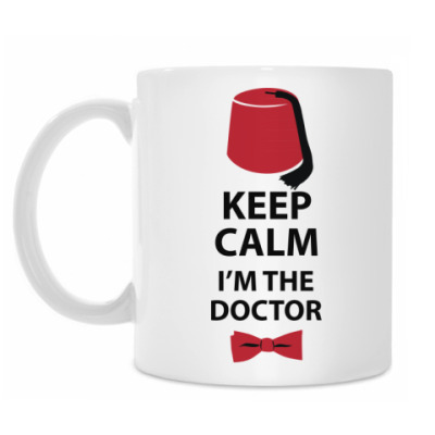 Кружка Keep calm! I'm the Doctor