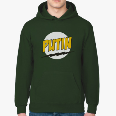Толстовка худи Путин в стиле Базинги