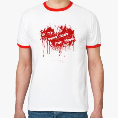 Футболка Ringer-T Blood