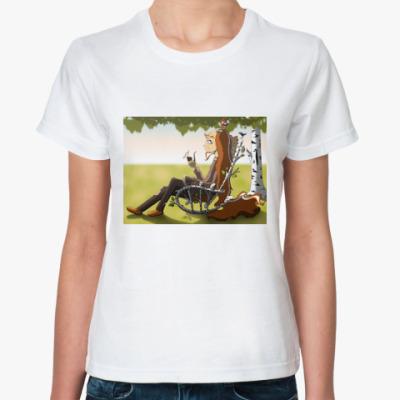 Классическая футболка  «Сказочный Леший»