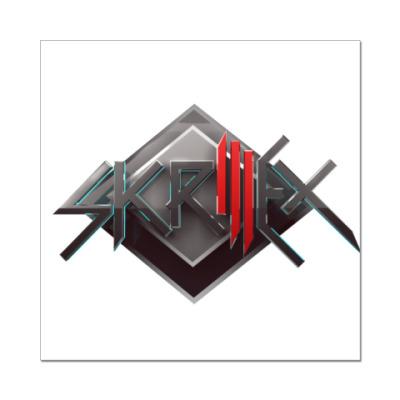 Наклейка (стикер) Skrillex