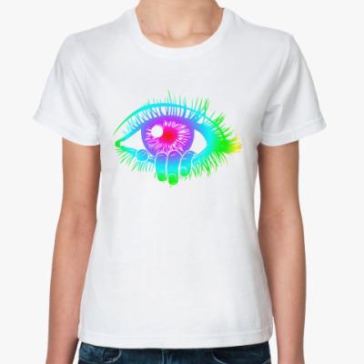 Классическая футболка тону в твоих глазах