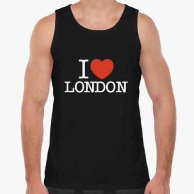 Майка I Love London
