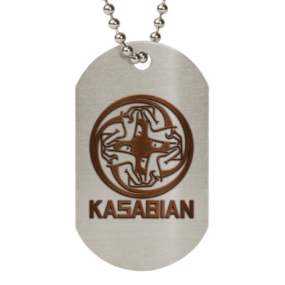 Жетон dog-tag Kasabian
