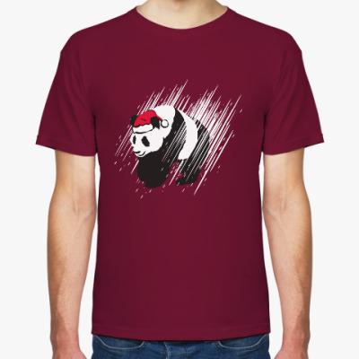 Футболка Санта-панда