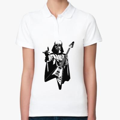Женская рубашка поло Darth Metal