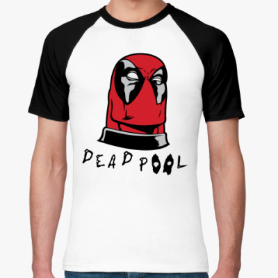 Футболка реглан Deadpool