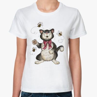 Классическая футболка Охота на пчёл