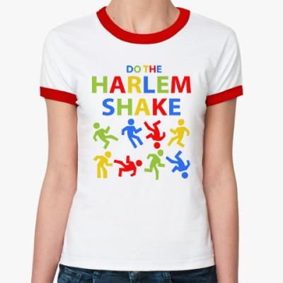 Женская футболка Ringer-T Harlem Shake