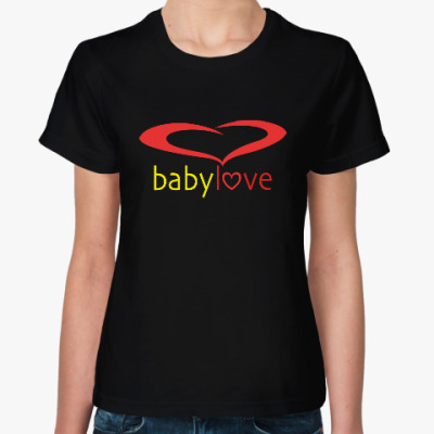 Женская футболка Baby Love