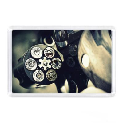Магнит Револьвер с мемами