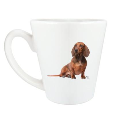 Чашка Латте такса