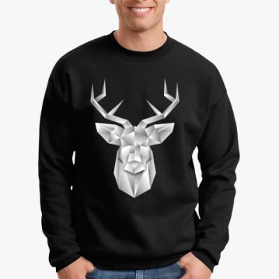 Свитшот Polygonal Deer