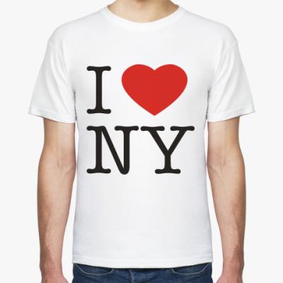 Футболка new york