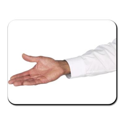 Коврик для мыши рука
