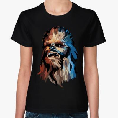 Женская футболка Чубакка