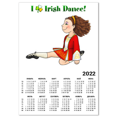 Календарь Irish Dance!