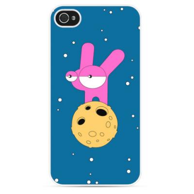 Чехол для iPhone Лунные кроличьи настроения