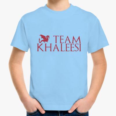 Детская футболка Команда Кхалиси