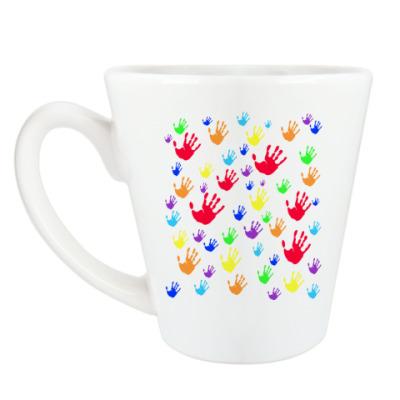 Чашка Латте 'Hands'