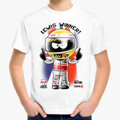 Детская футболка LEWIS WINNER