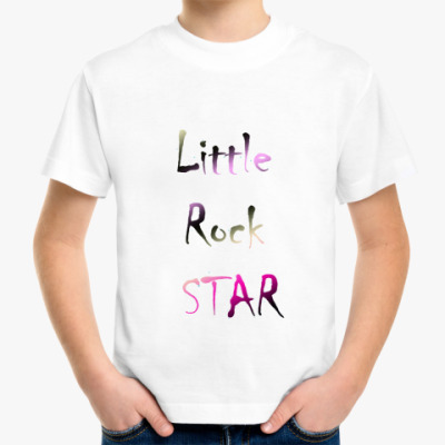 Детская футболка Rock Star