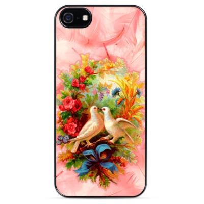Чехол для iPhone Винтаж, живопись - модная тема