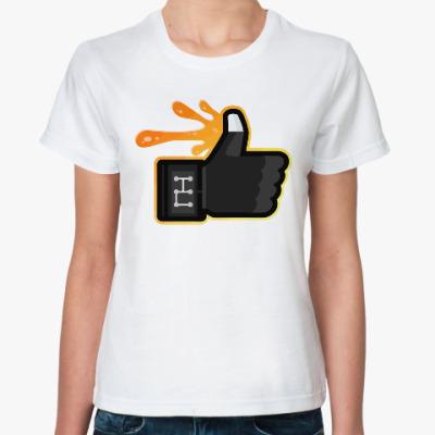 Классическая футболка Палец вверх