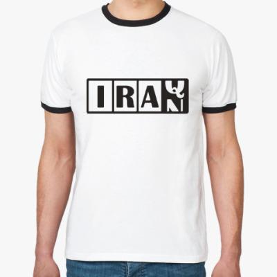 Футболка Ringer-T Иран-Ирак